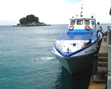 The ferry at one of Tioman's jetties